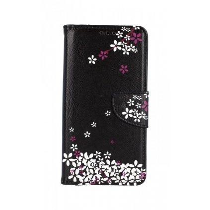 Flipové puzdro na Samsung A10 Kvety sakury