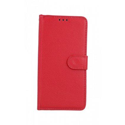 Flipové puzdro na Samsung A10 červenej s prackou