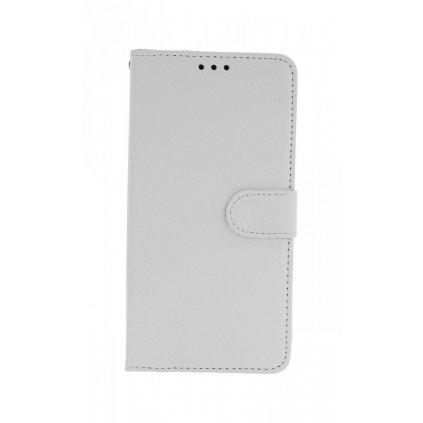 Flipové puzdro na Samsung A10 biele s prackou