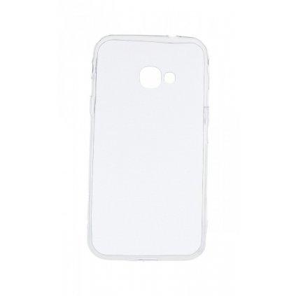 Ultratenký silikónový kryt na Samsung Xcover 4S 0,5 mm priehľadný