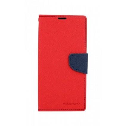 Flipové puzdro Mercury Fancy Diary na Samsung A50 červené