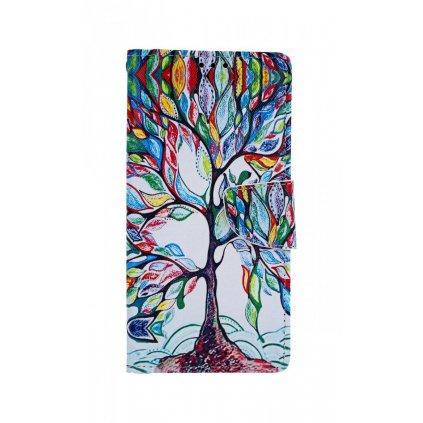 Flipové puzdro na Samsung A70 Farebný strom