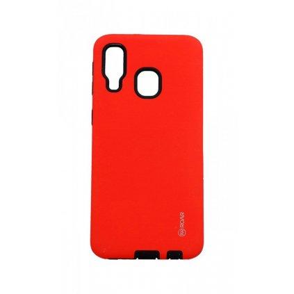 Zadný kryt Roar RICO na Samsung A40 červený