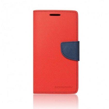 Flipové puzdro Mercury Fancy Diary na Huawei P9 Lite 2017 červené