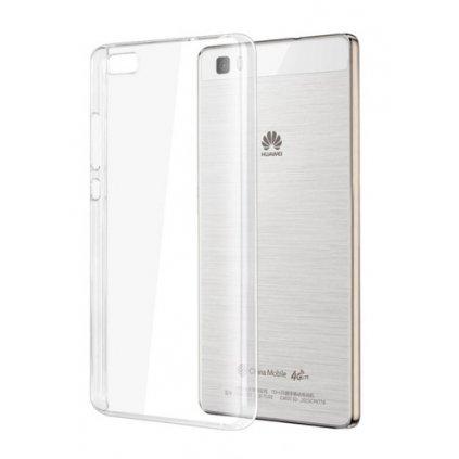 Ultratenký silikónový kryt na Huawei P8 Lite 0,5 mm priehľadný