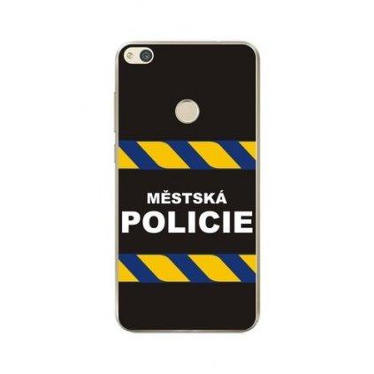 Zadný silikónový kryt na Huawei P9 Lite 2017 Mestská polícia