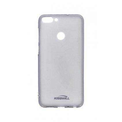 Zadný silikónový kryt Kisswill na Huawei P Smart tmavý