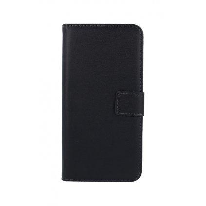 Flipové puzdro na Huawei P Smart čierne s prackou 2