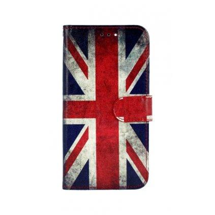 Flipové puzdro na Huawei P Smart Anglicko