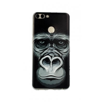 Zadný silikónový kryt na Huawei P Smart King Kong