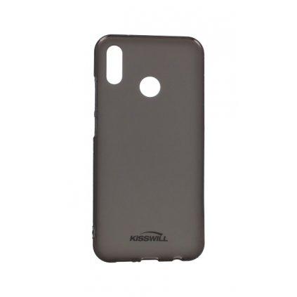 Zadný silikónový kryt Kisswill na Huawei P20 Lite tmavý