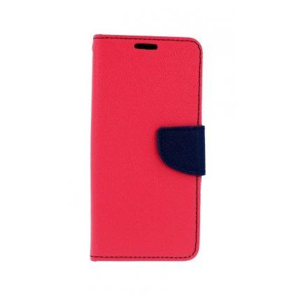 Flipové puzdro na Huawei P20 Lite ružové