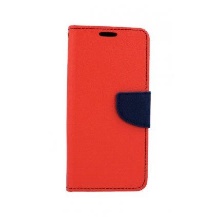 Flipové puzdro na Huawei P20 Lite červené