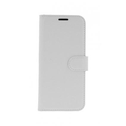 Flipové puzdro na Huawei P20 Lite biele s prackou