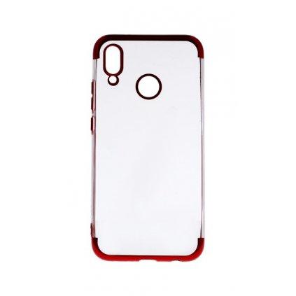 Zadný silikónový kryt na Huawei P20 Lite Frame červený