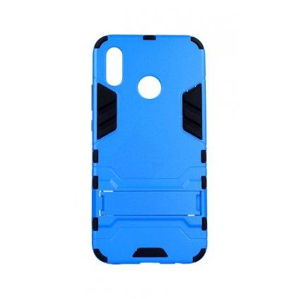 Zadný kryt na Huawei P20 Lite so stojanom modrý