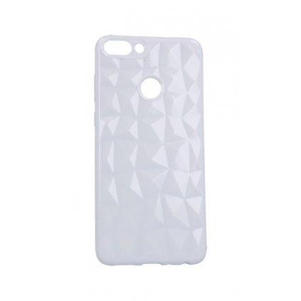 Zadný silikónový kryt Prism Jelly na Huawei P Smart biely