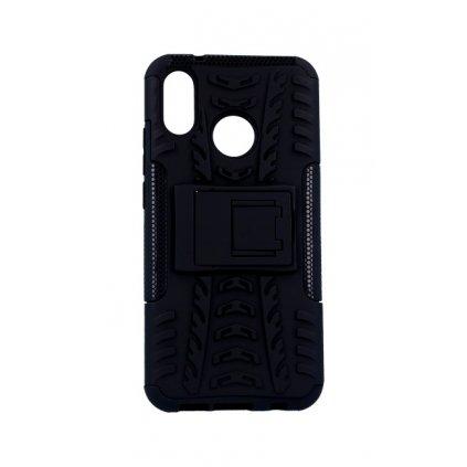Zadný kryt na Huawei P20 Lite čierny so stojanom