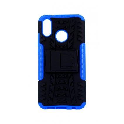 Zadný kryt na Huawei P20 Lite modrý so stojanom