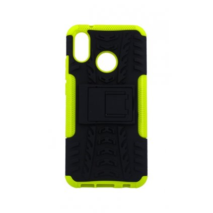 Zadný kryt na Huawei P20 Lite zelený so stojanom