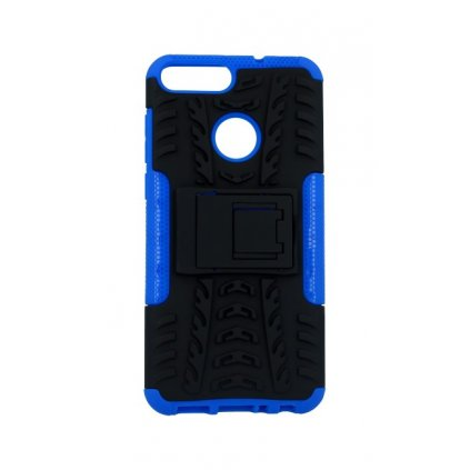 Zadný kryt na Huawei P Smart modrý so stojanom