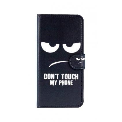 Flipové puzdro na Huawei P20 Lite Dont Touch koženka