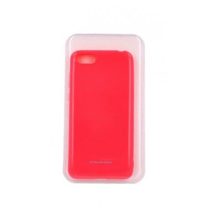 Zadný silikónový kryt Molan Cano Jelly na Huawei Y5 2018 ružový