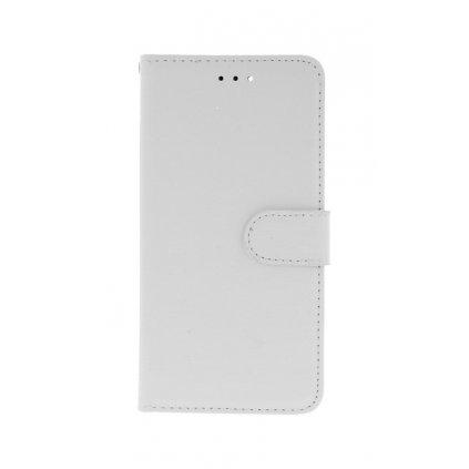 Flipové puzdro na Huawei Y6 Prime 2018 biele s prackou