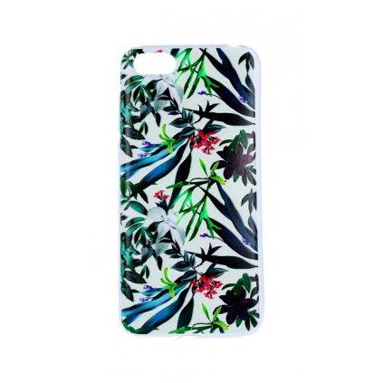 Zadný silikónový kryt na Huawei Y5 2018 Tropical Flowers