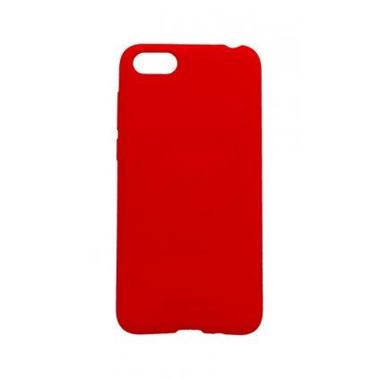 Zadný silikónový kryt Mercury Soft Case na Huawei Y5 2018 červený