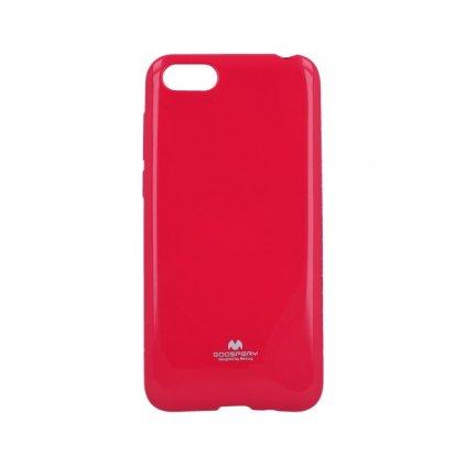 Zadný silikónový kryt Mercury Jelly Case na Huawei Y5 2018 ružový
