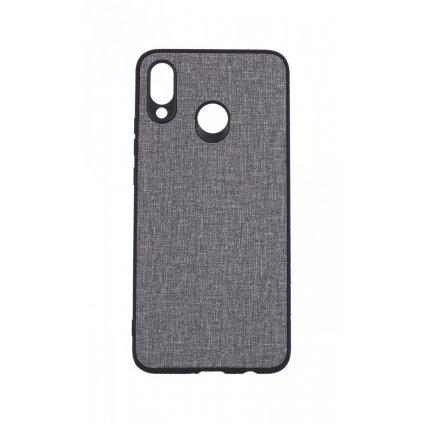 Zadný pevný kryt na Huawei Nova 3 Texture sivý