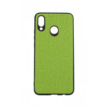 Zadný pevný kryt na Huawei Nova 3 Texture zelený