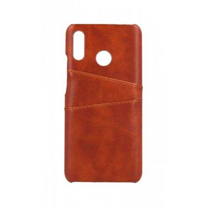 Zadný pevný kryt na Huawei Nova 3 Pocket hnedý