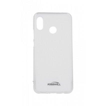 Zadný silikónový kryt Kisswill na Huawei Nova 3 svetlý