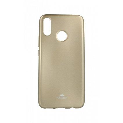 Zadný silikónový kryt Mercury Jelly Case na Huawei Nova 3i zlatý