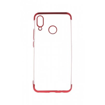 Zadný silikónový kryt na Huawei Nova 3i Frame červený