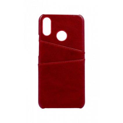 Zadný pevný kryt na Huawei Nova 3i Pocket červený