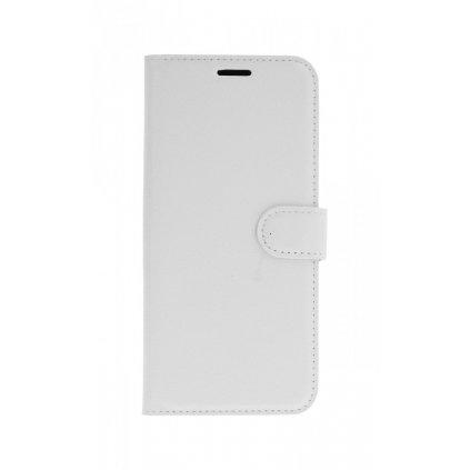 Flipové puzdro na Huawei Nova 3i biele s prackou