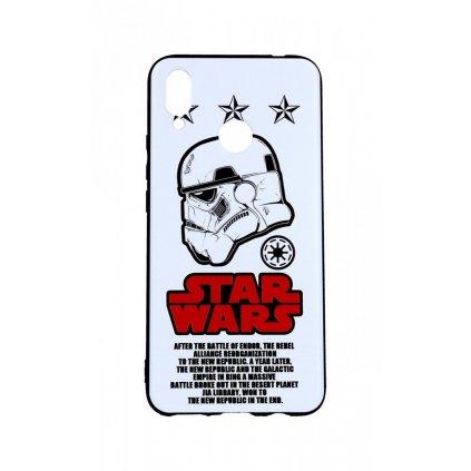 Zadný 3D silikónový kryt na Huawei Nova 3i Star Wars