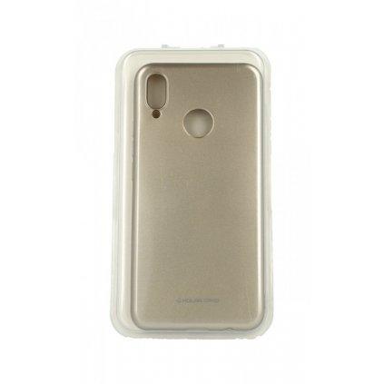 Zadný silikónový kryt Molan Cano Jelly na Huawei Nova 3i zlatý