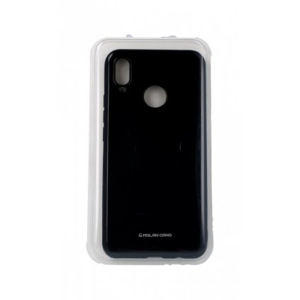 Zadný silikónový kryt Molan Cano Jelly na Huawei Nova 3i čierny