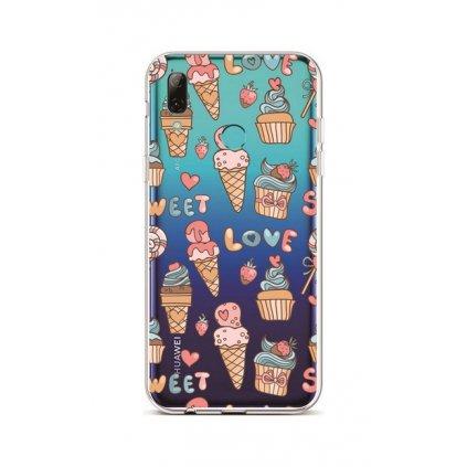 Zadný silikónový kryt na Huawei P Smart 2019 Sweet Love