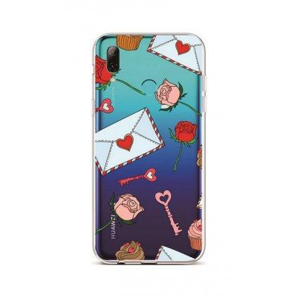 Zadný silikónový kryt na Huawei P Smart 2019 Love Letter