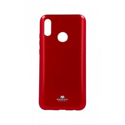 Zadný silikónový kryt Mercury Jelly Case na Huawei P Smart 2019 červený