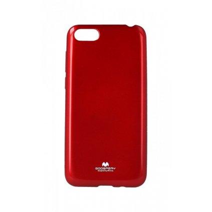 Zadný silikónový kryt Mercury Jelly Case na Huawei Y5 2018 červený