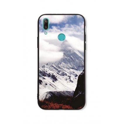 Zadný pevný kryt LUXURY na Huawei Y7 2019 Mountains