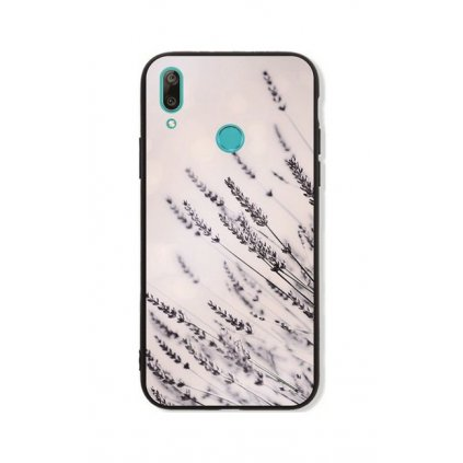 Zadný pevný kryt LUXURY na Huawei Y7 2019 Lavender