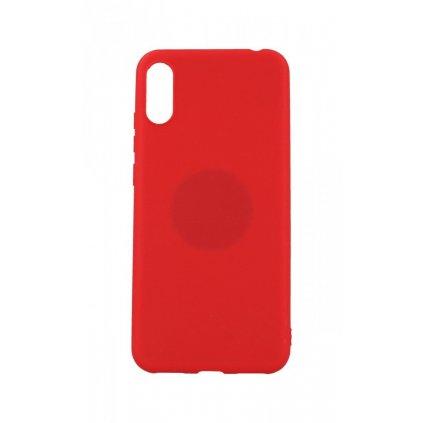 Zadný silikónový kryt na Huawei Y6 2019 Soft Magnet červený