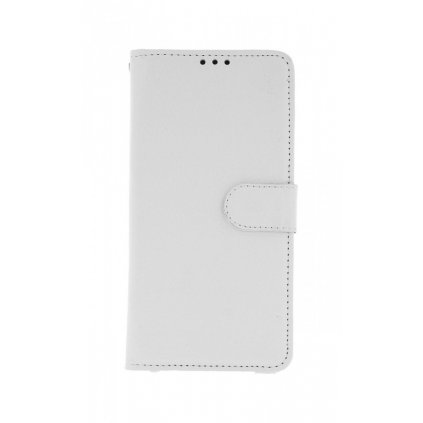 Flipové puzdro na Huawei Y7 2019 biele s prackou